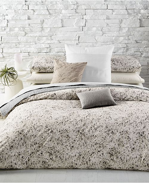 Calvin Klein Nocturnal Blossoms Cotton Queen Duvet Cover