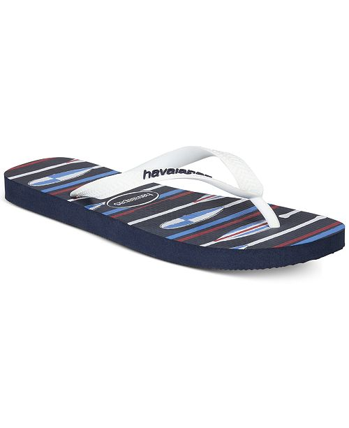 Havaianas Men's Top Nautical Flip-Flops