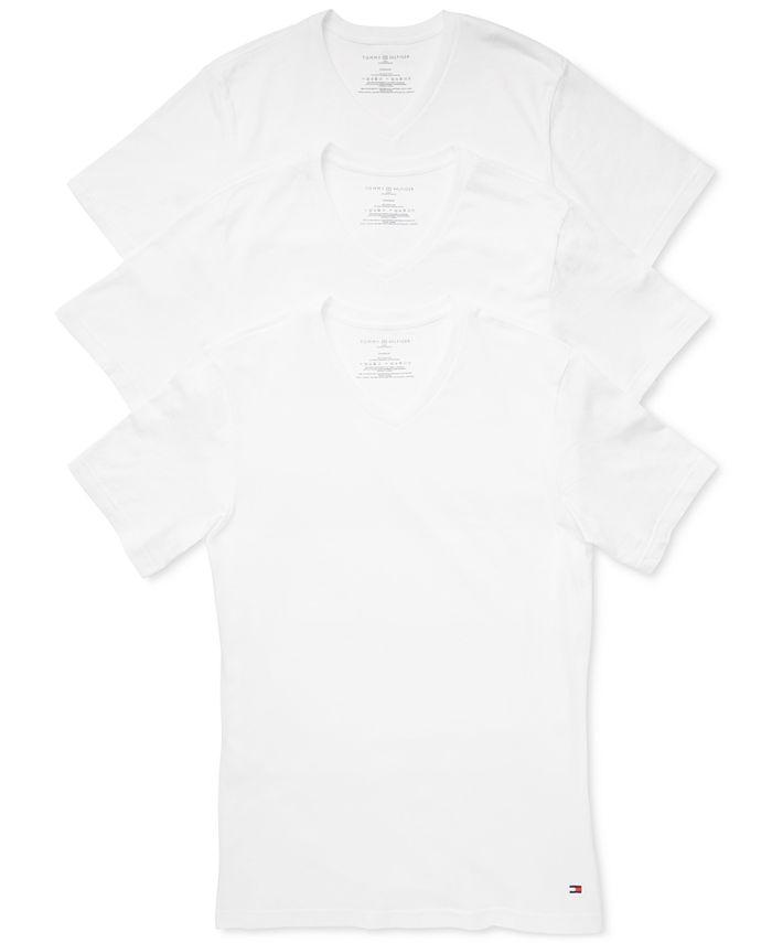 Tommy Hilfiger - Men's 3-Pk. Slim-Fit Cotton T-Shirt