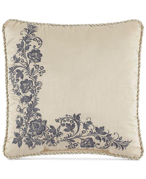 """Croscill Daphne 16"""" Square Decorative Pillow"""