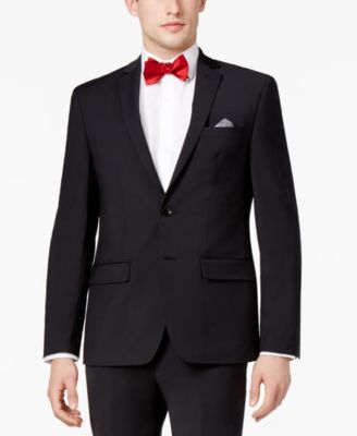 Men's Skinny Fit Stretch Wrinkle-Resistant Suit Jacket, Created for Macy's