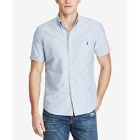 Polo Ralph Lauren Men's Short-Sleeve Oxford Shirt (Multiple Colors)