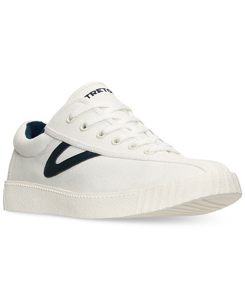Tretorn Men s Nylite Plus Casual Sneakers from Finish Line - Finish ... 98561fbb0f0