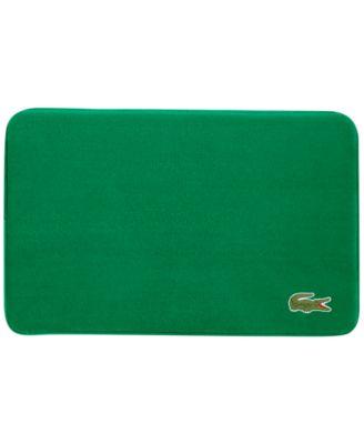 Lacoste Crocodile 19 X 30 Memory Foam Bath Rug Reviews Rugs Mats Bed Macy S