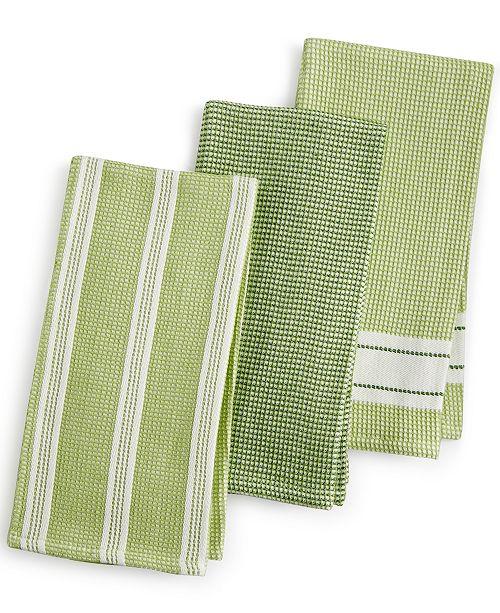 dark handwoven large towels looms kitchen green olive collections towel nantucket tea