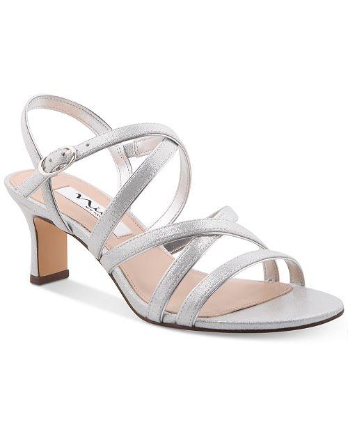 071a383f2 Nina Genaya Strappy Evening Sandals; Nina Genaya Strappy Evening Sandals ...