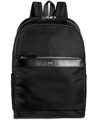 Hugo Boss Men S Digital Light Dome Backpack Wallets