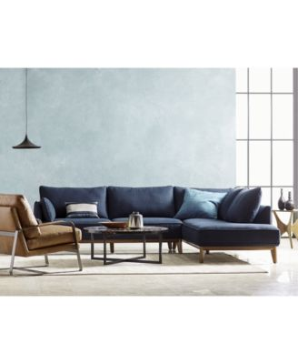 Jollene Fabric Sectional Collection Created For Macys