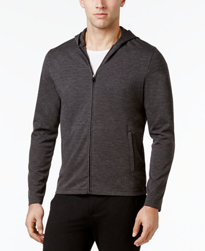 Alfani Men's Knit Essentials Stretch Travel Hoodie, Created for Macy's