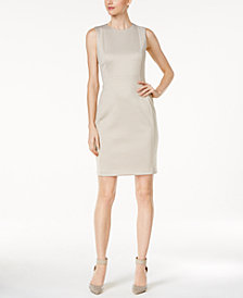 Calvin Klein Heathered Sheath Dress