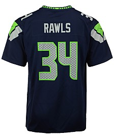 Nike Thomas Rawls Seattle Seahawks Game Jersey, Big Boys (8-20)