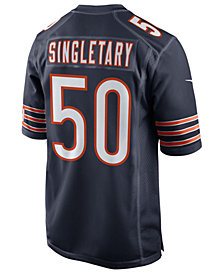 Nike Men's Mike Singletary Chicago Bears Retired Game Jersey