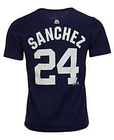 Majestic Gary Sánchez New York Yankees Official Player T-Shirt, Big Boys (8-20)