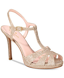 kate spade new york Feodora Glitter Dress Sandals