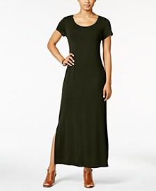 Short-Sleeve Maxi Dress, Created for Macy's