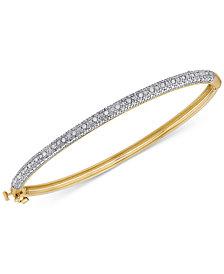 Diamond Pavé Bangle Bracelet (1/4 ct. t.w.)