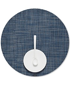 Chilewich Basketweave Woven Vinyl Round Placemat