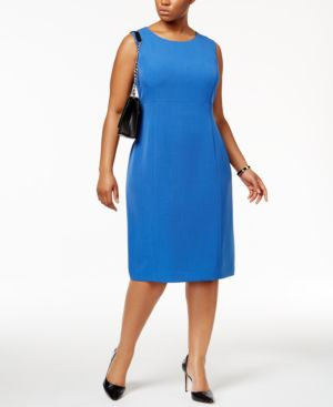 ANNE KLEIN | Anne Klein PlusSheath Dress | Goxip