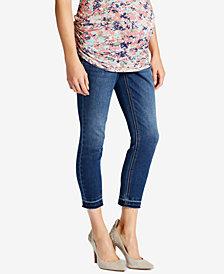 Jessica Simpson Maternity Jet Stream Wash Ankle Jeans