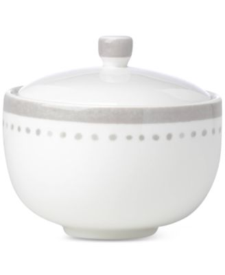 Charlotte Street Grey Collection Sugar Bowl