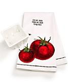 Celebrate Shop Farm To Table Cotton Dishtowel & Fruit Crate Set