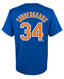 Majestic MLB Noah Syndergaard T-Shirt, Little Boys (4-7)
