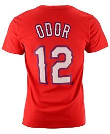 Majestic MLB Rougned Odor T-Shirt, Little Boys (4-7)