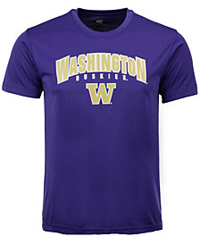 Colosseum  Washington Huskies Mesh Poly T-Shirt, Big Boys (8-20)