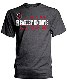 J America Men's Rutgers Scarlet Knights Verbiage Stack T-Shirt