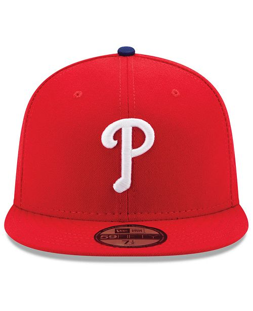 5bebc61186b ... New Era Philadelphia Phillies Authentic Collection 59FIFTY Cap ...