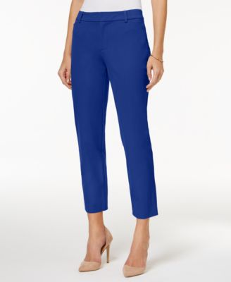 Image of Charter Club Newport Slim Leg Cropped Pants, Only at Macy's