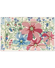 "Enhance Butterfly 1'8"" x 2'8"" Accent Rug"