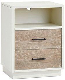 Wynn Kids Power Outlet Nightstand