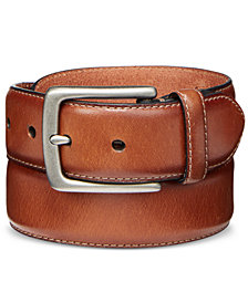 Levi's Men's Feather-Edge Leather Belt