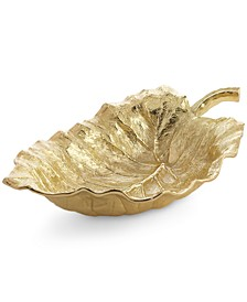 New Leaves Collection Elephant Ear Large Serving Bowl