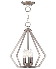 Livex Prism 3- Light Metal 14'' Pendant