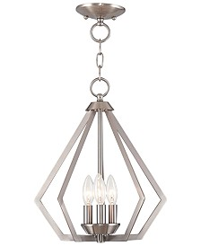 Livex Prism 3- Light Metal 14'' Pendant