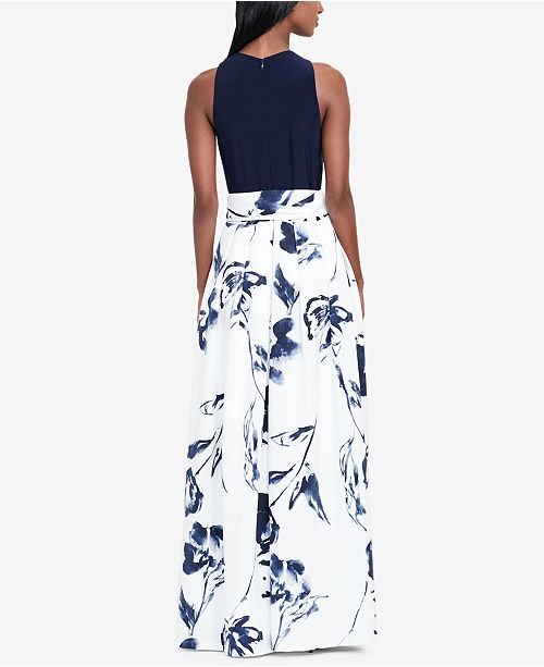 Lauren Ralph Lauren Floral Print Ballgown Dresses Women Macys