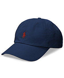 Polo Ralph Lauren Men's Big & Tall Cotton Chino Sports Cap