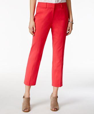 Unique Tommy Hilfiger NEW Beige Women39s Size 12X25 Capris Cropped Pants