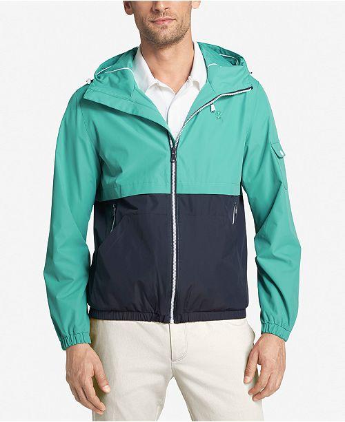 533c90aa381d IZOD Men s Hooded Raincoat and Windbreaker Jacket   Reviews - Coats ...