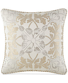 "Waterford Olivette 18"" Square Decorative Pillow"