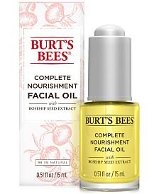 Burt's Bees Complete Nourishment Facial Oil, 0.5 oz