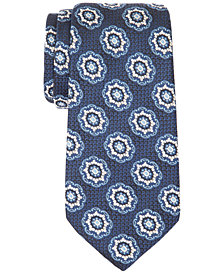 Tasso Elba Men's Bart Medallion Tie