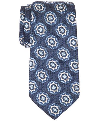 Tasso Elba Men's Bart Medallion Tie