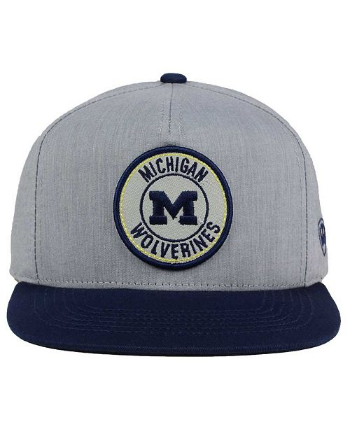official photos 1f455 8e56c ... Top of the World Michigan Wolverines Illin Snapback Cap ...