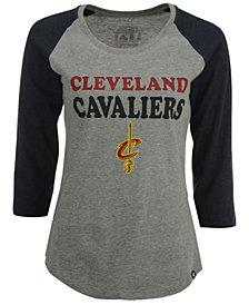 '47 Brand Women's Cleveland Cavaliers Club Block Raglan T-Shirt
