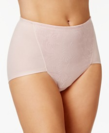 Bali Women's  2-Pack Ultra Tummy-Control Cotton Brief DF6510