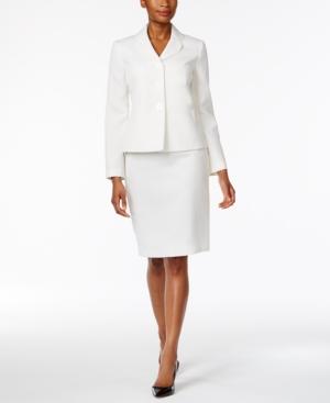 Le Suit Club-Collar Skirt...