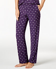 Alfani Printed Knit Pajama Pants, Created for Macy's